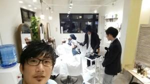 お店で初講習会(*^▽^*)|本厚木 美容室 LUTIE(ルティエ)