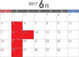 6月のお休み~|本厚木 美容室 マツエク LUTIE(ルティエ)